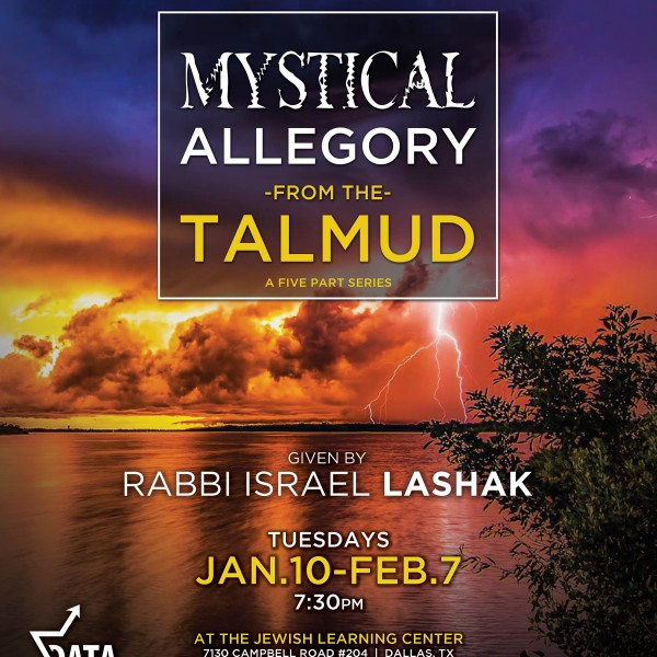 Mystical Allegory of Talmud Flyer2